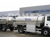 Tank bodies and tank trailers